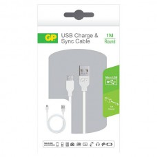 GP CB14 CHARGE & SYNC CABLE MICRO USB 1M ROUND